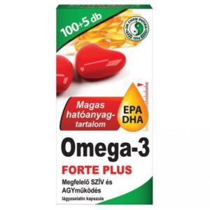 Dr. Chen Omega-3 Forte Plusz kapszula – 105db