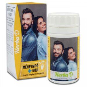 Herba-D Méhpempő + Goji kapszula – 60db