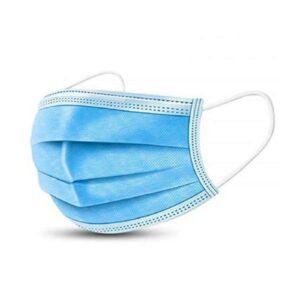 Egészségügyi szájmaszk, 3 rétegű, gumi zsinóros füllel 20db/csomag 290 Ft/db
