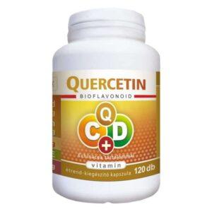 Flavin7 Quercetin C+D Echinacea kapszula – 120db