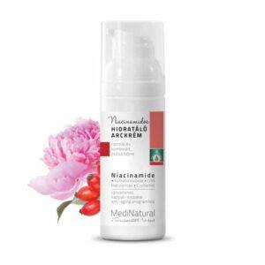 Medinatural Niacinamidos hidratáló arckrém – 50ml