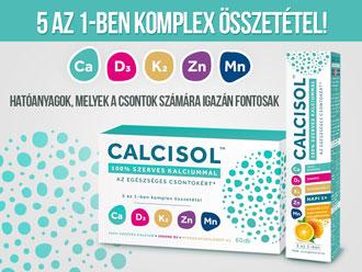 Calcisol - a csontok szerves kalciumot érdemelnek!