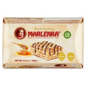 Marlenka Mézes diós torta szelet - 100g