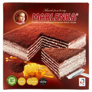 Marlenka Mézes-kakaós torta - 800g